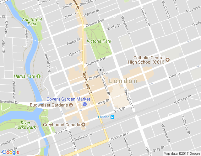 Map of Western Ontario Office & Showroom