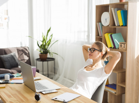 side-view-woman-desk-working-from-home